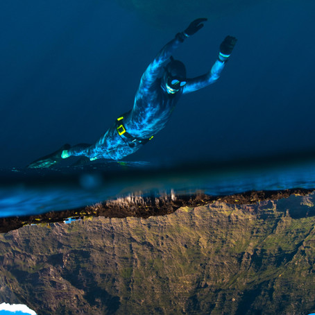 HONEYMOON INSPIRATION - Freediving on the Canary Islands