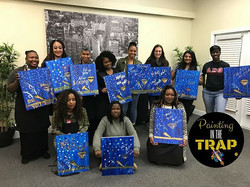 Thank you to everyone that came out to _paintinginthetrap last night! Purchase your tickets for the