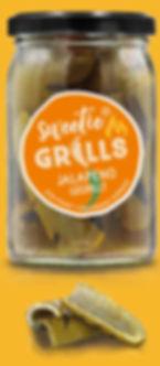 Gegrillte Paprika Delikatessen Antipasti Feinkost Jalapeno sweetie GRILLS süß-pikant