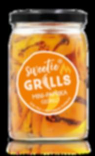 Gegrillte Paprika Antipasti Feinkost Mini-Paprika gelb sweetie GRILLS süß-mild