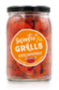 Gegrillte Paprika Antipasti Feinkost Peppadew Kirschpaprika sweetie GRILLS süß-pikant