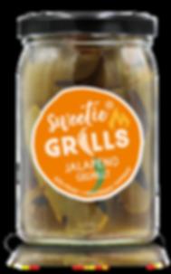 Gegrillte Paprika Antipasti Feinkost Jalapeno sweetie GRILLS süß-pikant