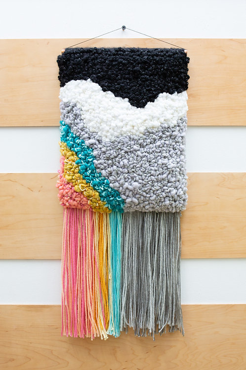 Paint Mix Wall Hanging