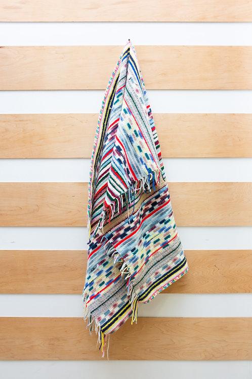 Vintage Afghan Blanket