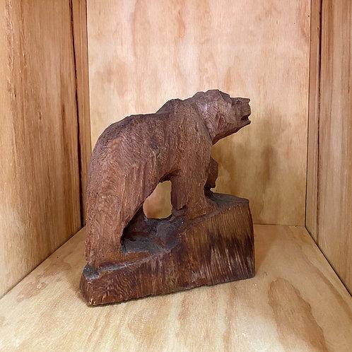 Vintage Carved Bear