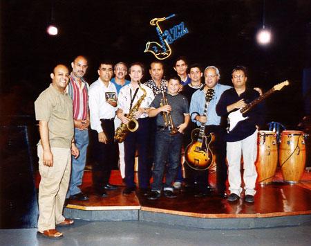 TV SHOW Jazz, with Gonzalo Micó, Pedro Lopez, Benjamín Brea, Gerardo Chacon.