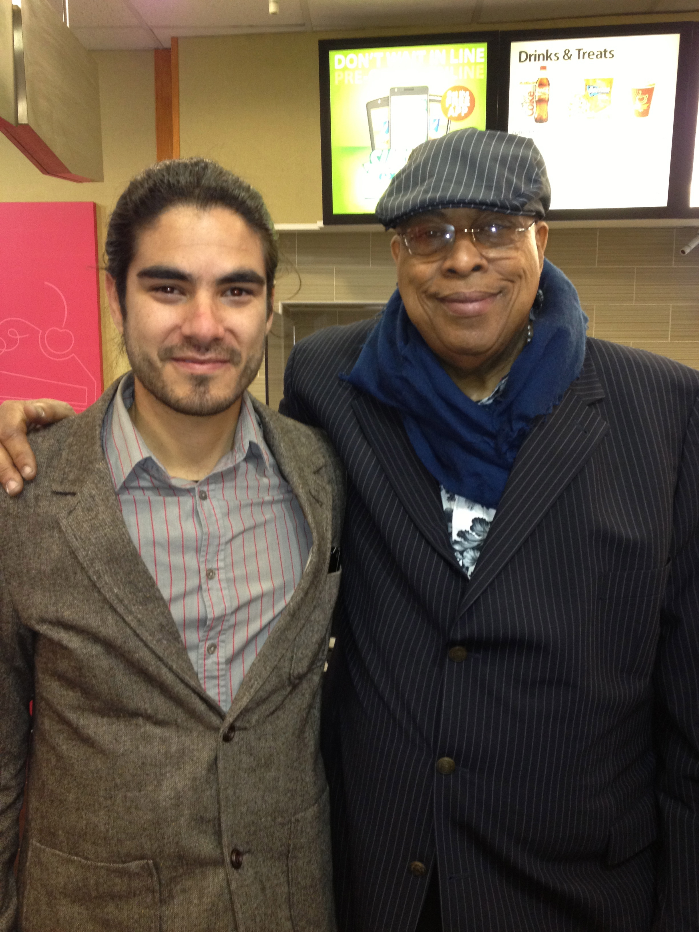 With Chucho valdes