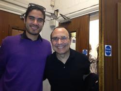 With Michel Camilo