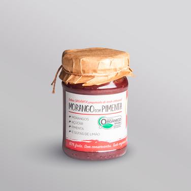 Morango com Pimenta