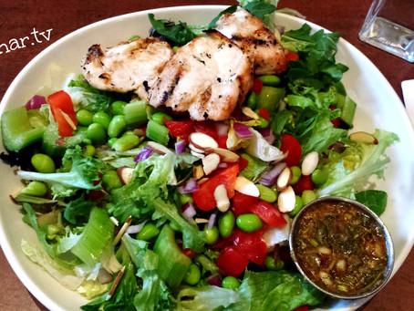 Азиатский салат с куриным филе