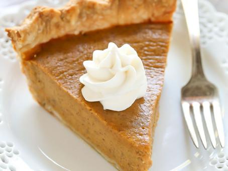 Праздничный осенний тыквенный пирог (American Pumpkin Pie)