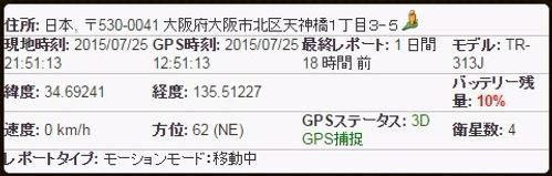 GPS 速度 標高