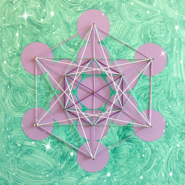 My art of Metatron's Cube