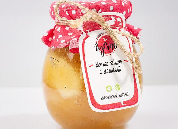 Мятное яблочное варенье с мелиссой