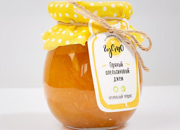 Пряный апельсиновый джем с корицей, гвоздикой, имбирем