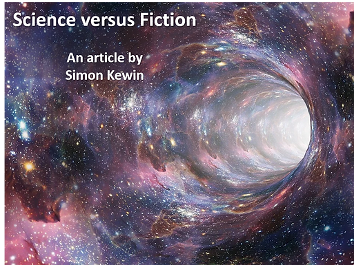 Science versus Fiction by Simon Kewin
