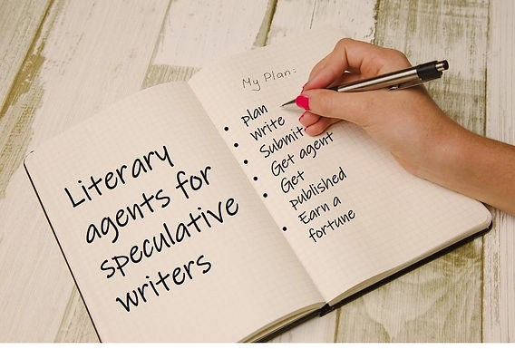 Literary agents for speculative writers