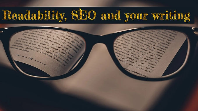 Readability, SEO and your writing