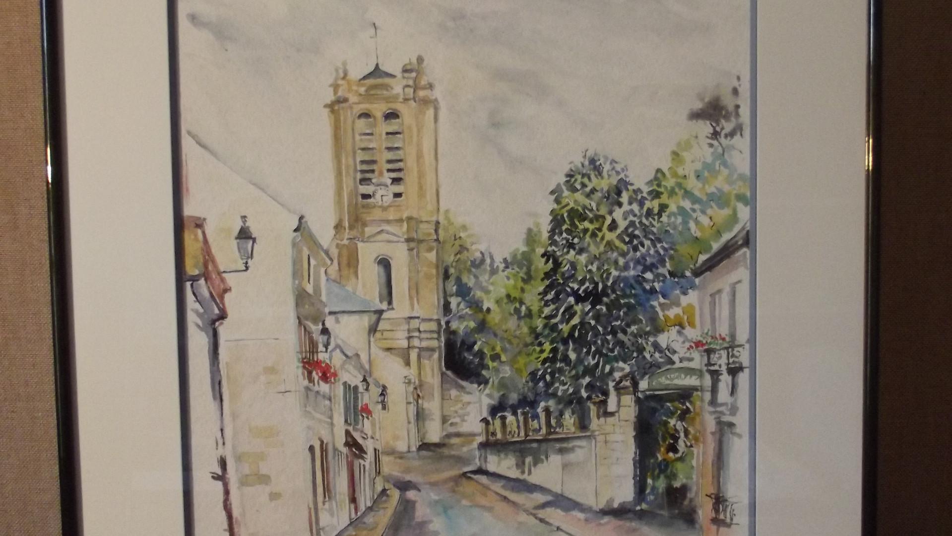Rue de l'Église à Chars