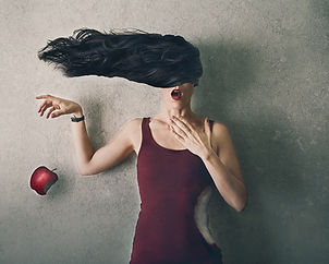 The Apple and Eve – Conceptual Fine Art Photography – Lauren Midgley – Wonder+Light, LLC