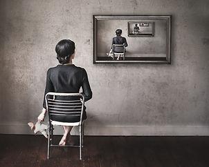 Mirrors-Conceptual Fine Art Photography-Lauren Midgley-Wonder+Light, LLC