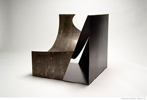 Cube Sculpture - Cylinder Chair