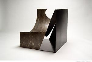Cube Sculpture - Cylinder Chair