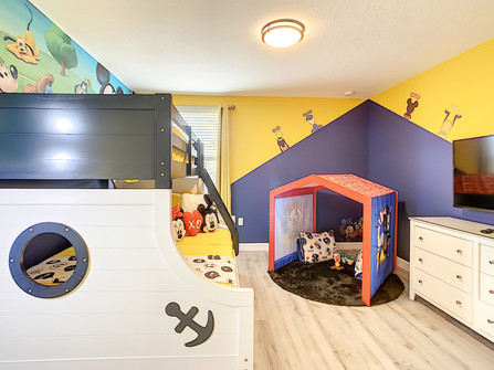 A Mickey Bedroom Made for Fun