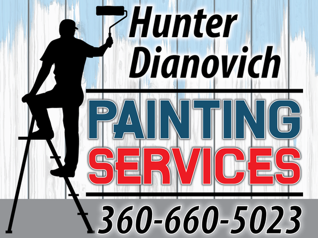 Hunter Dianovich Yard Sign
