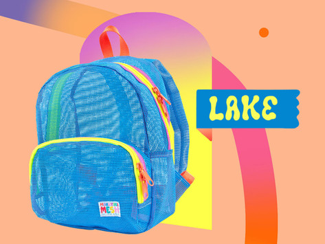 Mesh Backpacks in Three New Colors