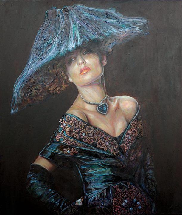 women fashion painting