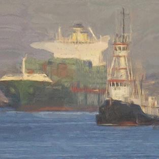 ''Rotterdam harbour''