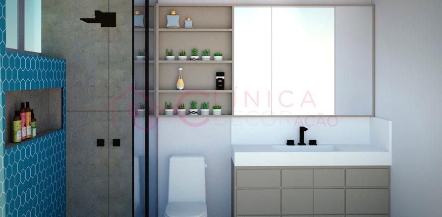 Projeto banheiro do casal