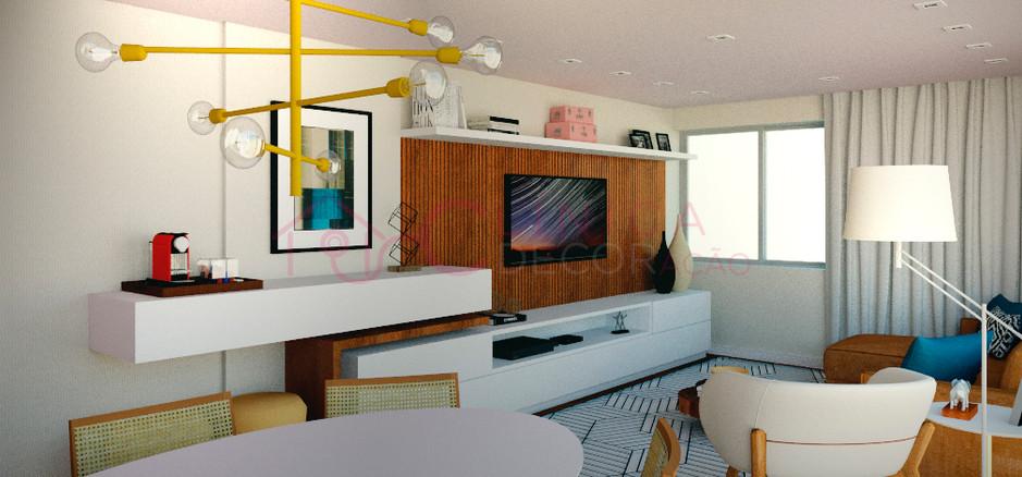 Projeto de Decoração Sala e Home