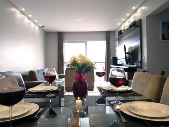 Detalhe sala de jantar