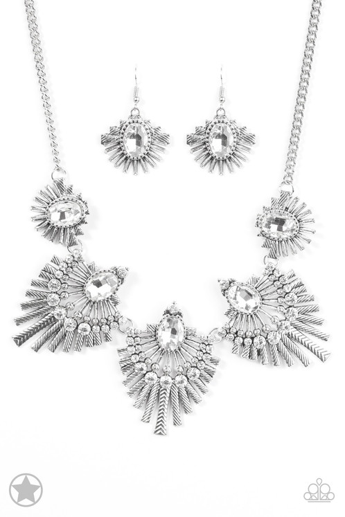 Miss YOU-niverse Necklace and Earrings Set