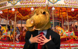 I will make the merry go round merry again