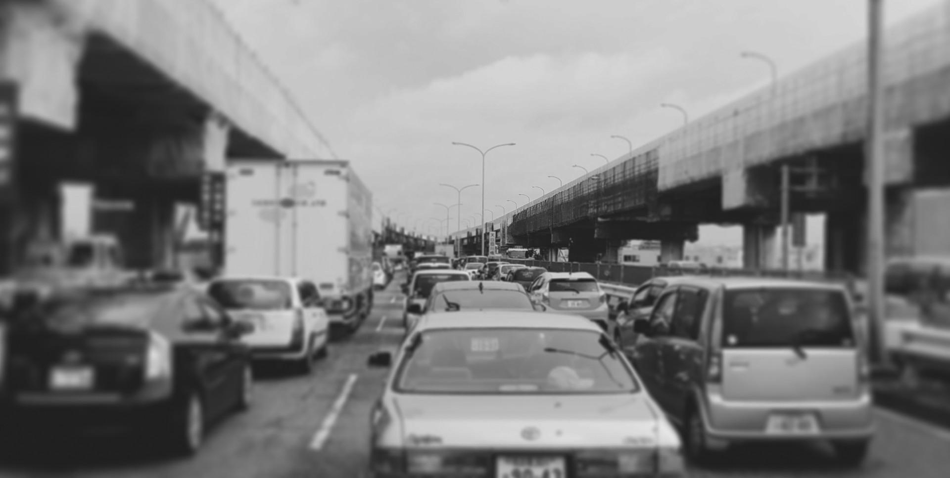 R23の渋滞
