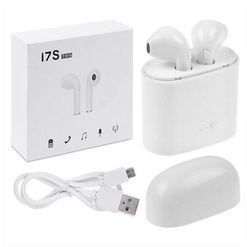 Auriculares Bluetooth V4.2 C/Dock carregamento TWS