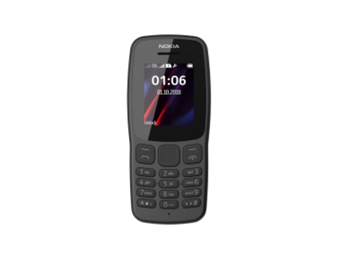 Telemovel Nokia 106 D/S Dark Grey