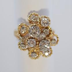 Very Nice Diamond Dinner Ring