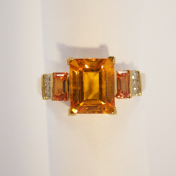 Quality Colored Stone Ring