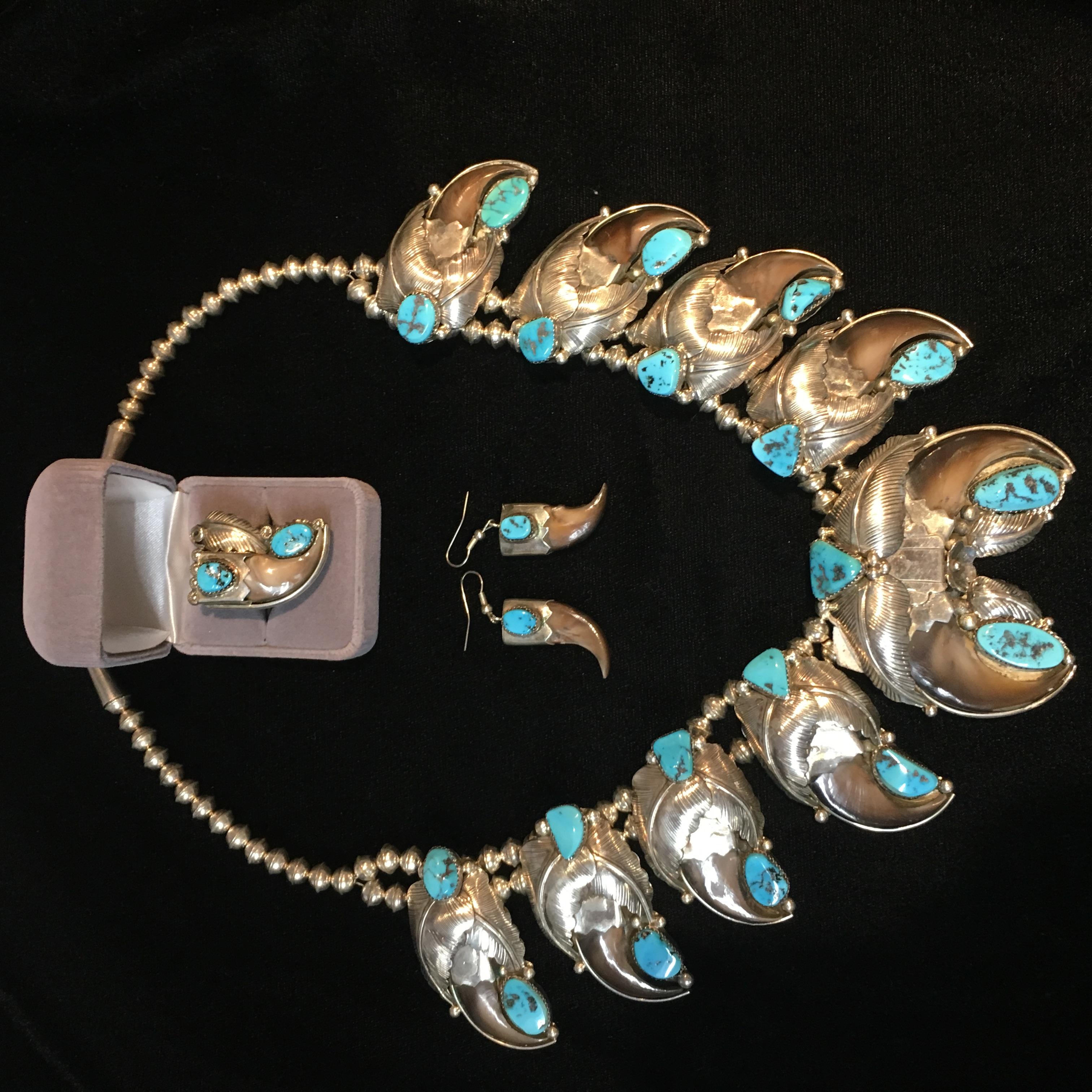 Turquoise Navajo Set