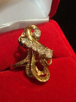 Designer Yellow Gold Ring