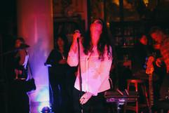 Rosana performing original music as Cosas Cosas
