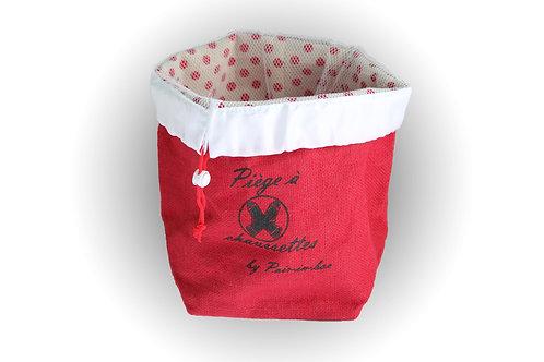 Pair-in-box Plus - 1 panier Rouge + 2 filets cordon rouge