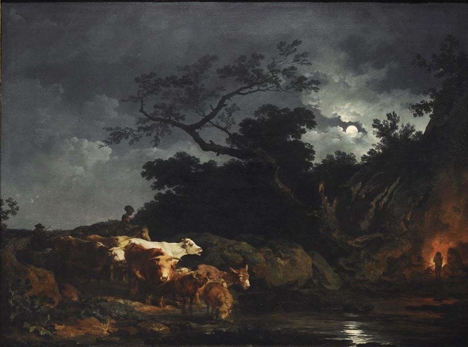 Moon in fine art
