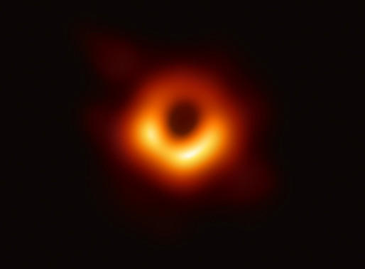 The First Ever Image of the Black Hole