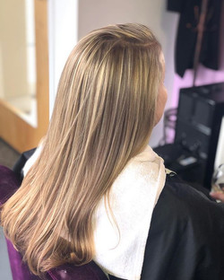 Partial Foil on this beautiful lady😍💜.