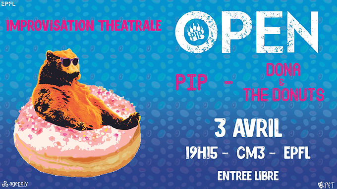 OPEN - Dona & The Donuts